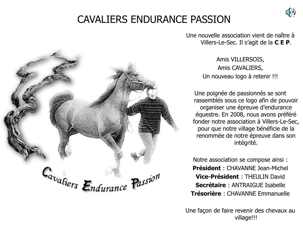 cavaliers endurance passion l.