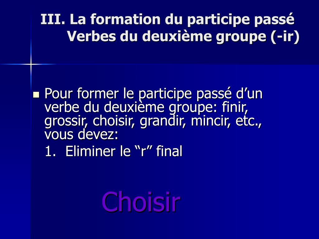 Ppt La Formation Du Passe Compose Powerpoint Presentation Free Download Id 177024