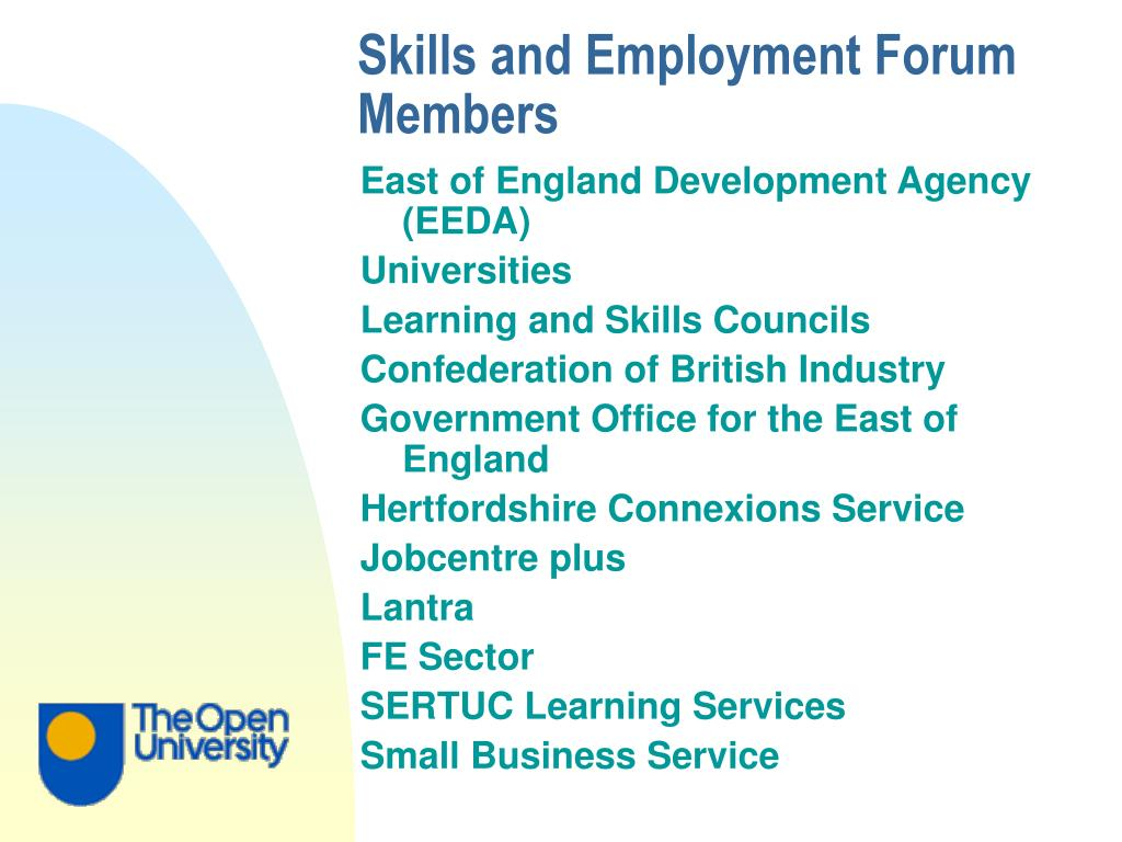 Skills and Employment Forum Members