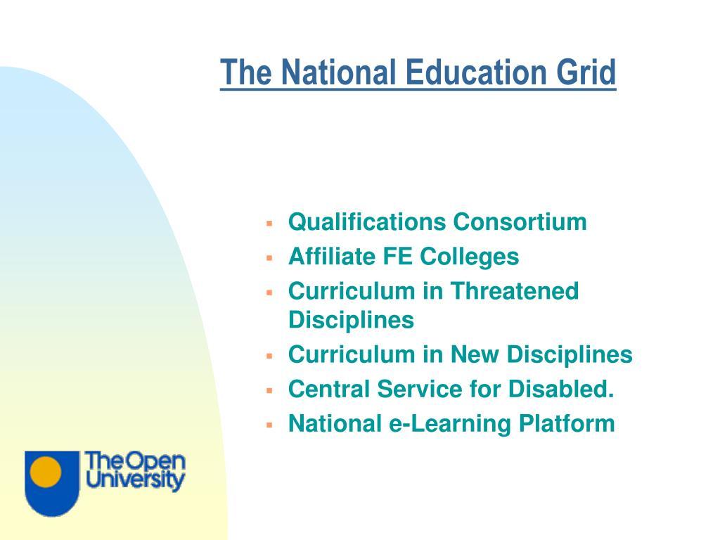 The National Education Grid