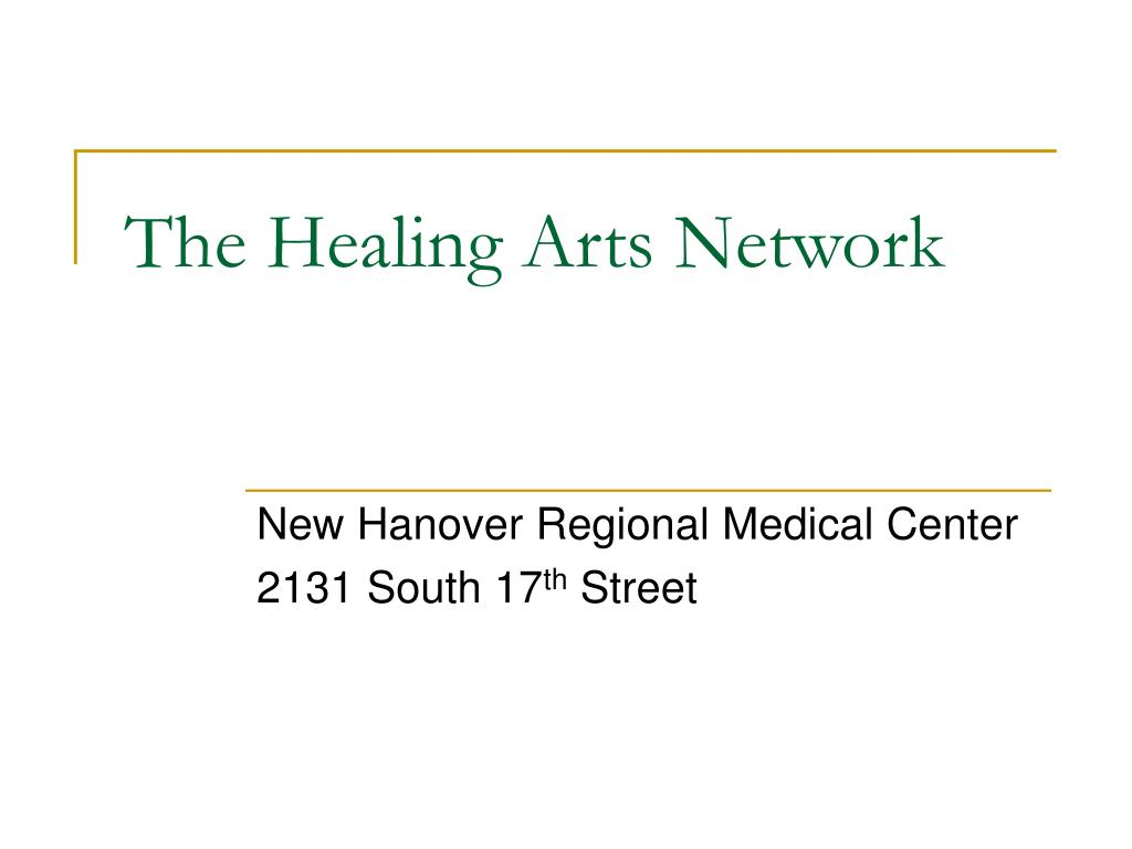 the healing arts network