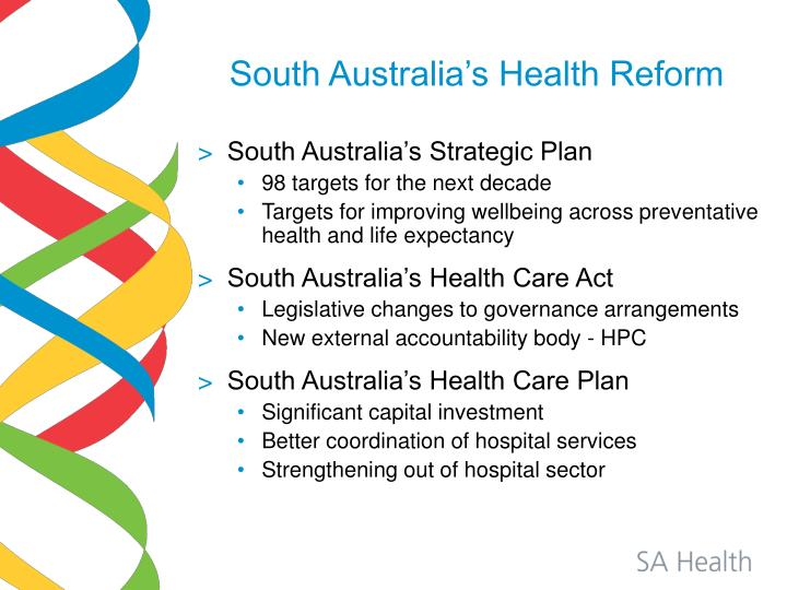 South Australia's Health Reform