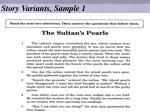 story variants sample 1