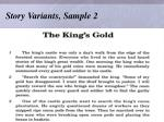 story variants sample 2