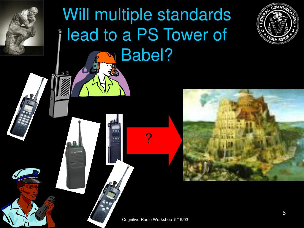 Will multiple standards lead to a PS Tower of Babel?