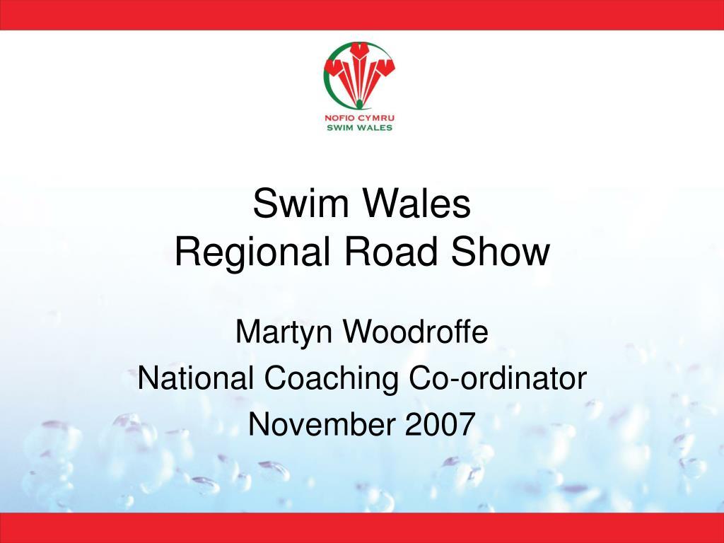 swim wales regional road show l.