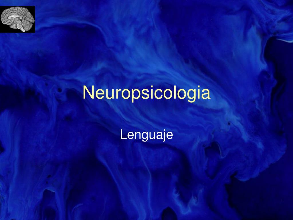 neuropsicologia l.