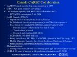 canada carec collaboration