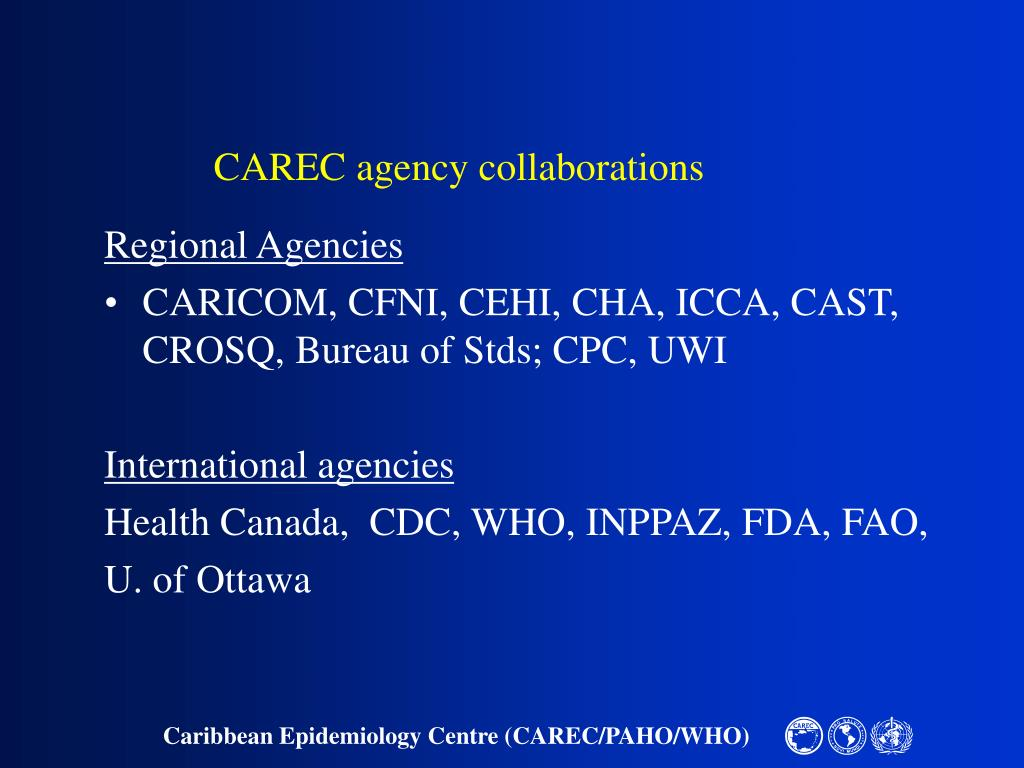CAREC agency collaborations