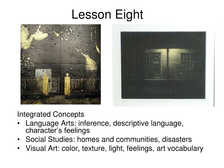 Lesson eight