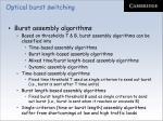 optical burst switching19