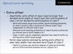optical burst switching34