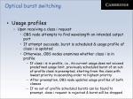 optical burst switching38