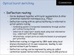 optical burst switching51