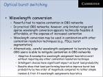 optical burst switching56