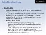 optical burst switching79