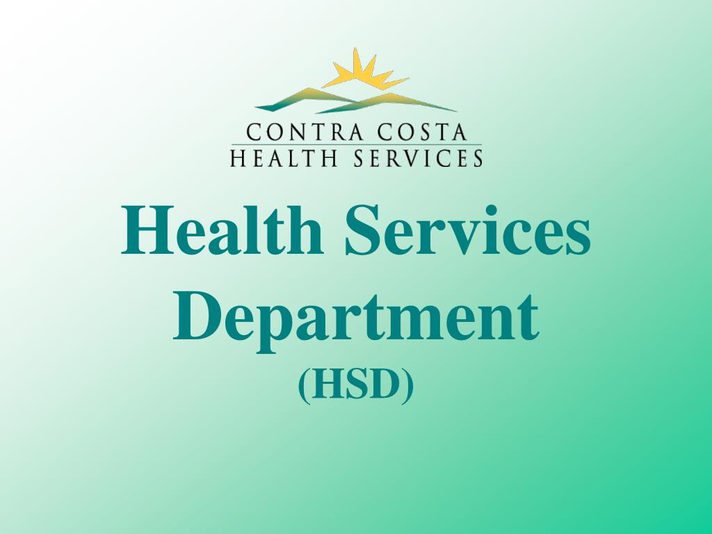 health services department hsd l.