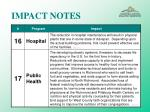 impact notes40