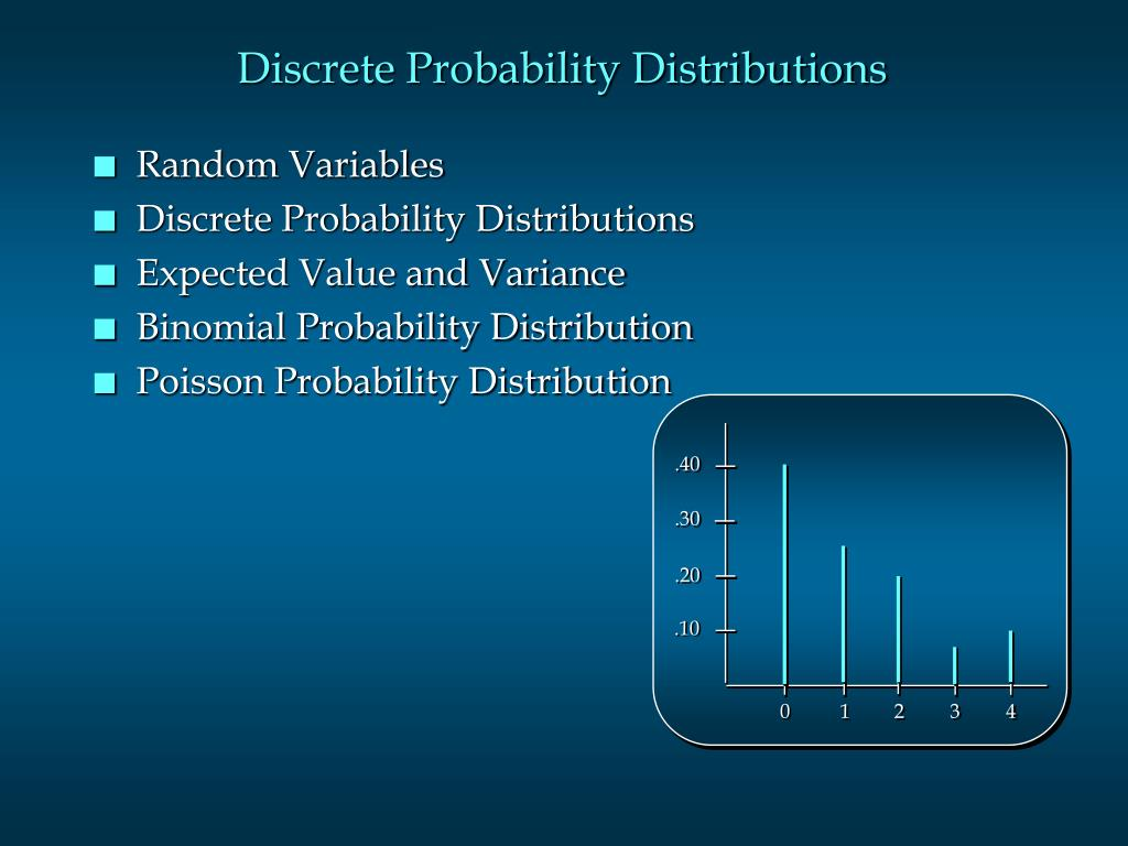 discrete probability distributions l.