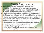 pivotal programmes