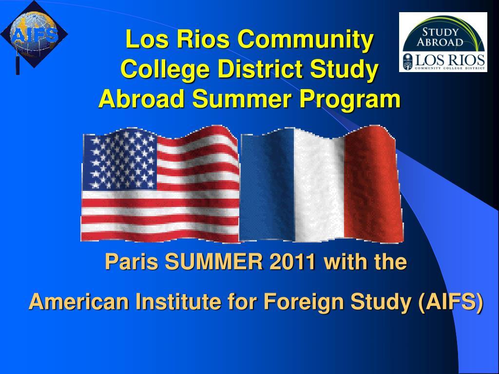 Los Rios Community