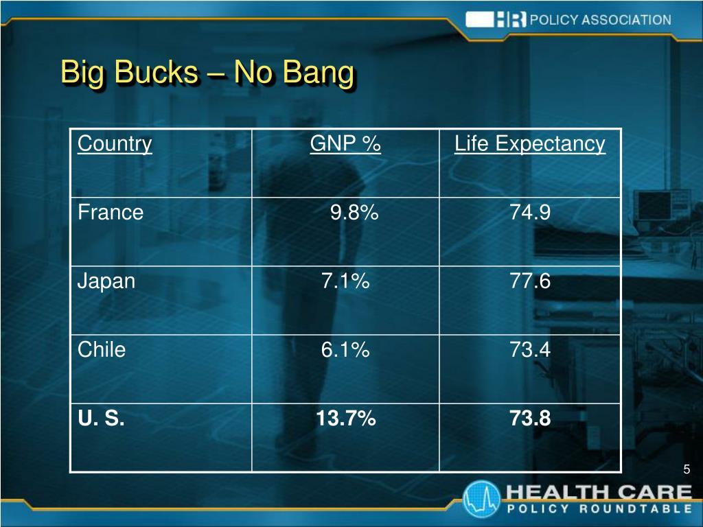 Big Bucks – No Bang