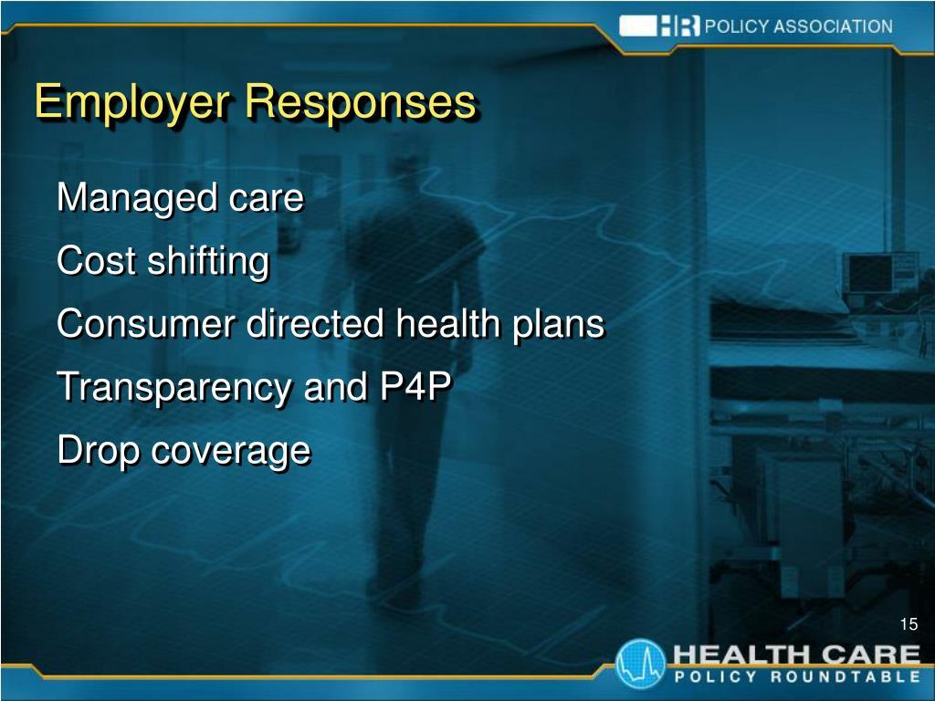 Employer Responses