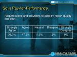 so is pay for performance