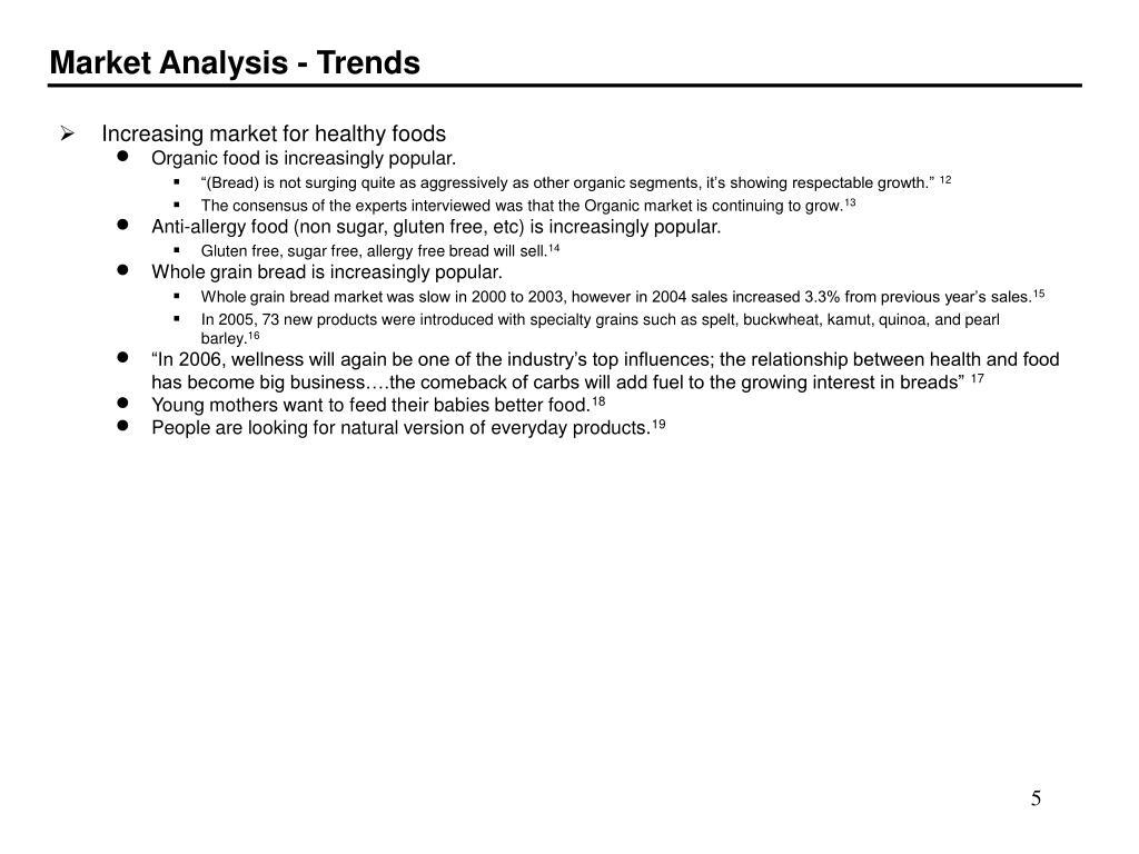Market Analysis - Trends