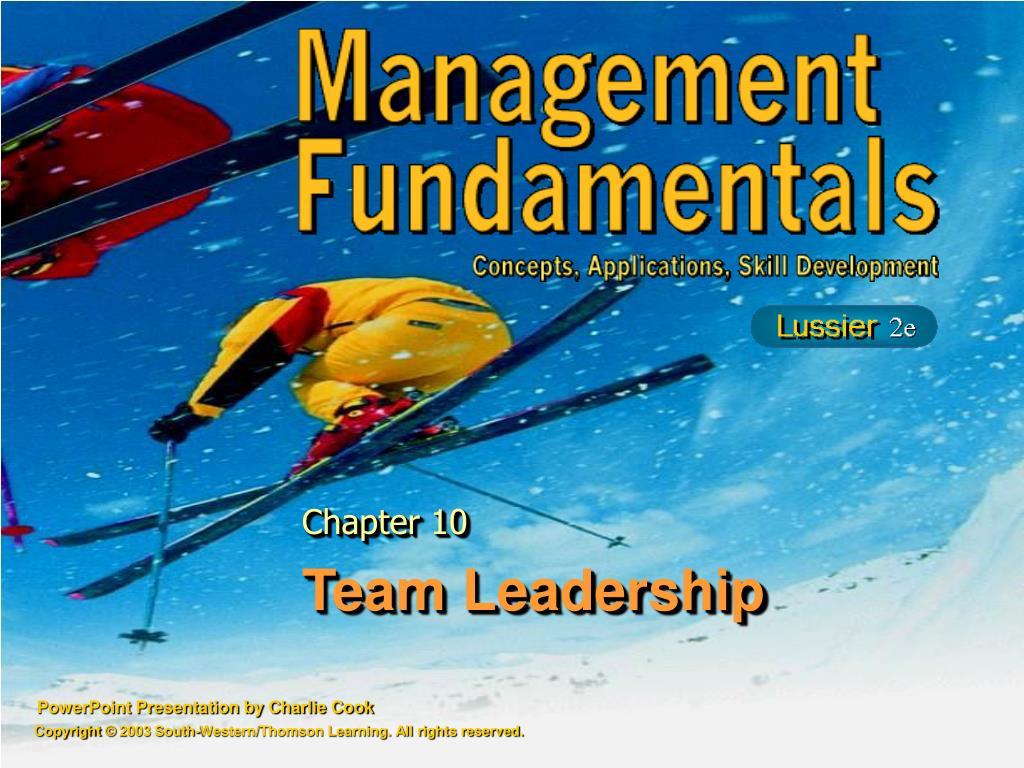 team leadership l.