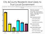 city county residents most likely to trust local government