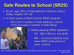 safe routes to school sr2s