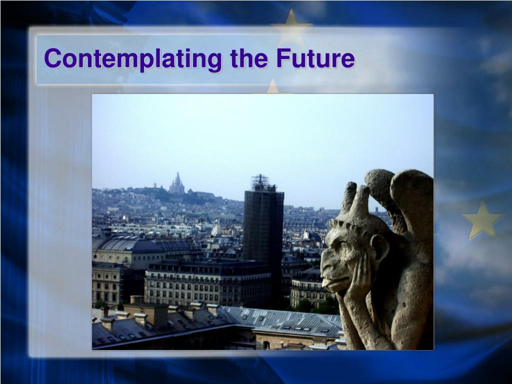 Contemplating the Future