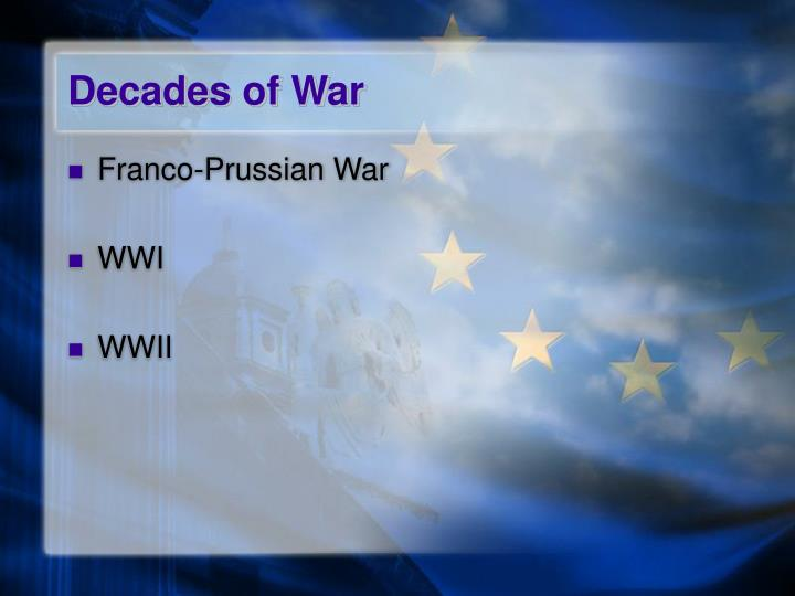 Decades of war