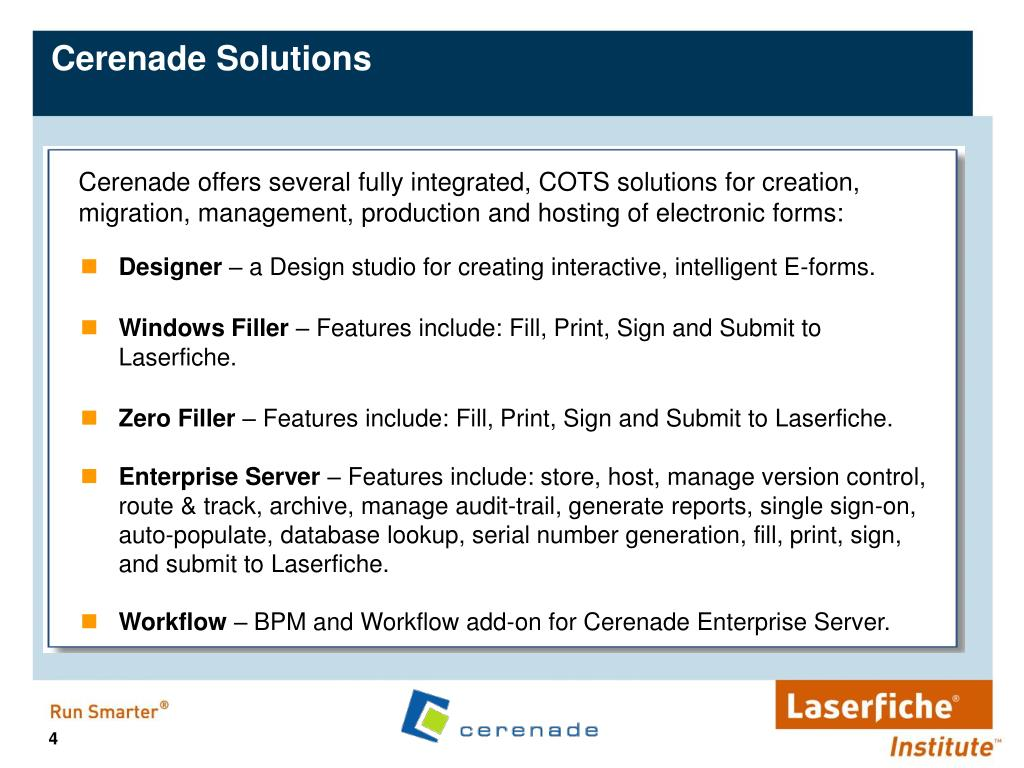 Cerenade Solutions