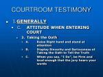 courtroom testimony9