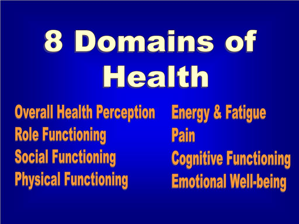 8 Domains of