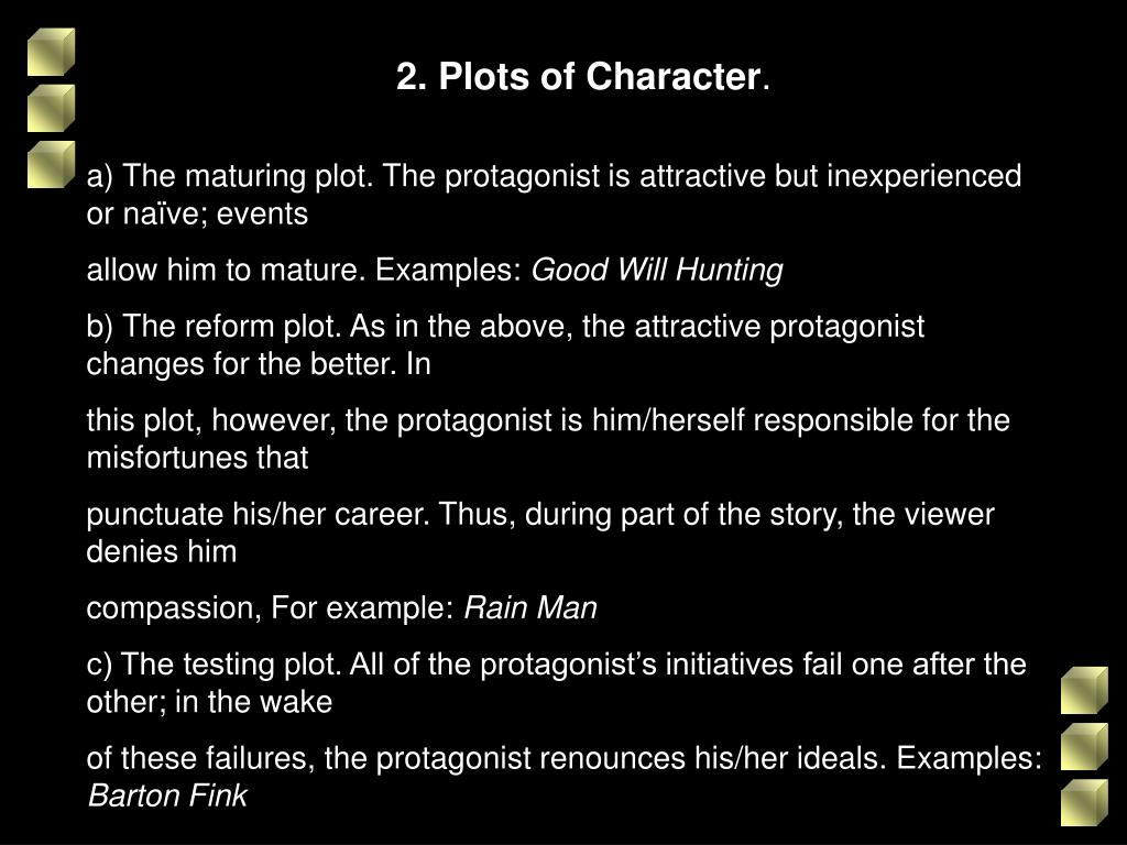 2. Plots of Character