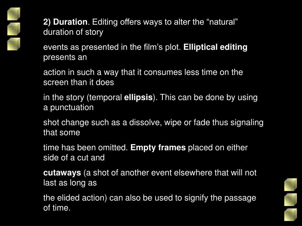 2) Duration