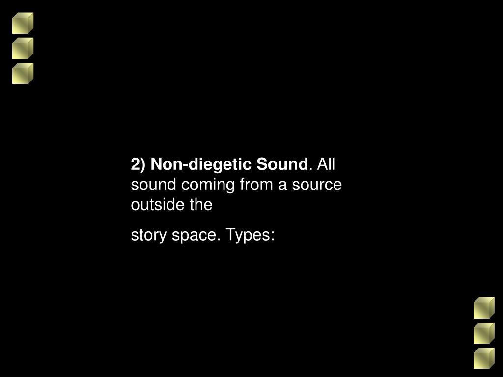 2) Non-diegetic Sound