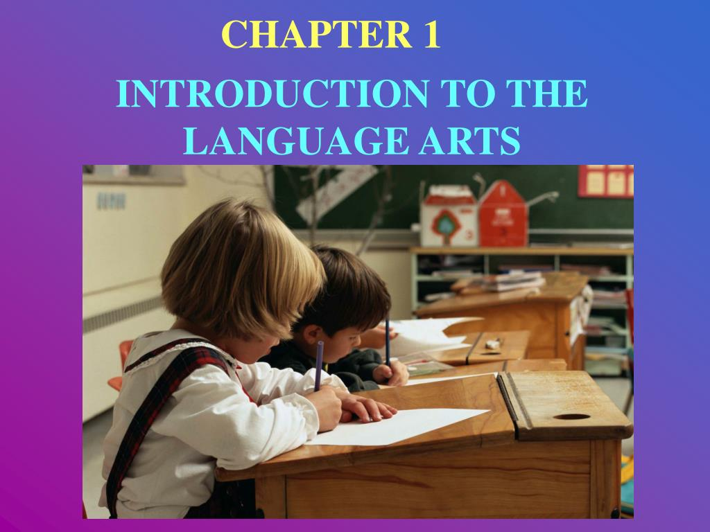 introduction to the language arts l.