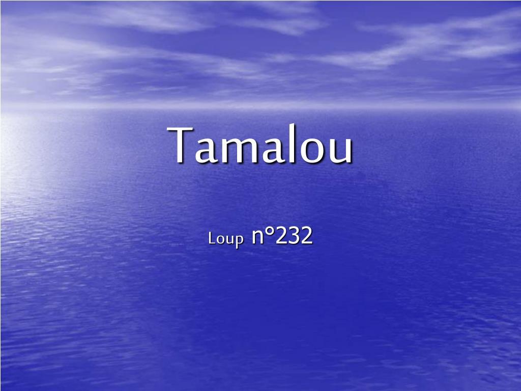 Tamalou