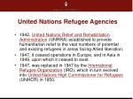 united nations refugee agencies