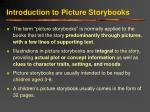 introduction to picture storybooks