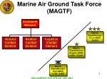 marine air ground task force magtf