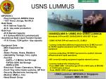usns lummus