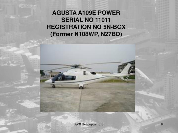 AGUSTA A109E POWER