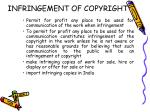 infringement of copyright23
