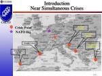 introduction near simultaneous crises