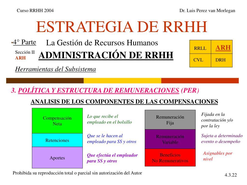 estrategia de rrhh l.